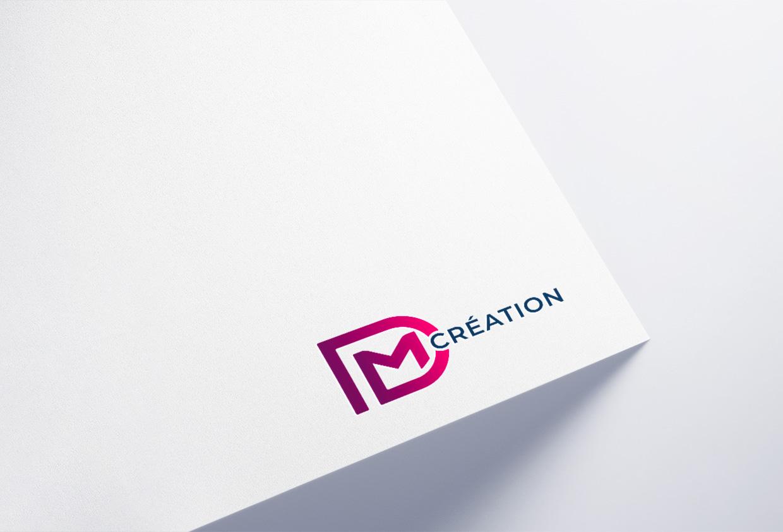 creation logo DM Création