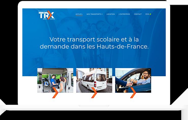 Création du site TRX by UNID